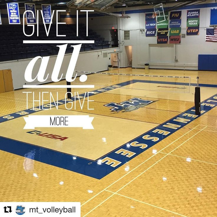 Middle Tennessee State University - Sports Imports Carbon Volleyball Net System #SICarbonNation