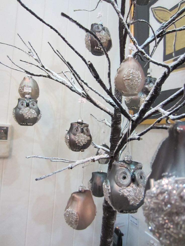 Who, Who looks cute in their woodland tree for #christmas ? Our little woodland owls that's who.