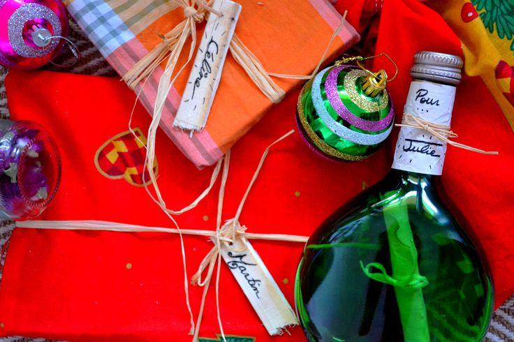 Pleins d'idées pour emballer ses cadeaux sans papier jetable (zéro-déchet)