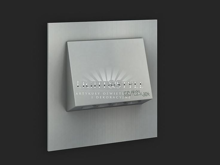 Ledix OPRAWA LED Ciepły PODTYNKOWA NAVI 230V Aluminium