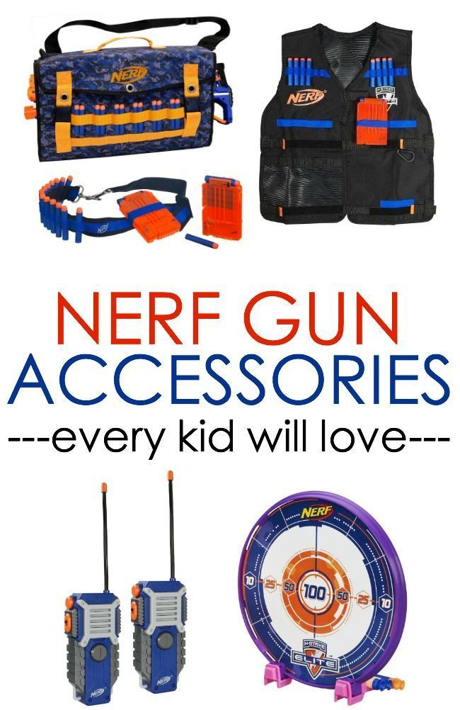 Need help with Nerf gun accessories? We've got it covered. Check out the latest in popular Nerf gun accessories for your gift guides this year.
