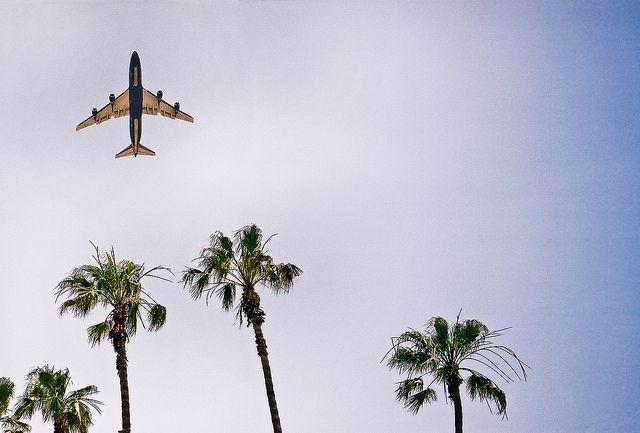 Arriving Los Angeles