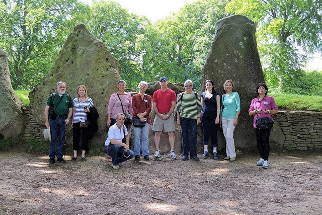 Introduction to Archaeology Field Trip 2012 - Wayland's Smithy