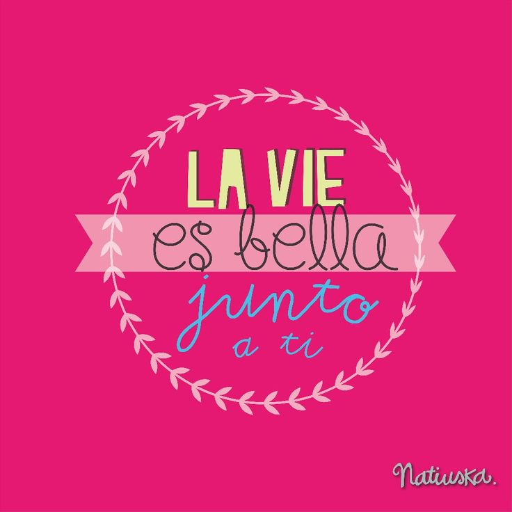 #imagen #tipografia #amor #lavidaesbella
