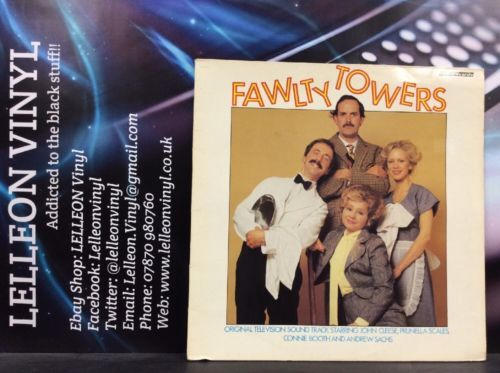 Fawlty Towers TV Soundtrack LP Album Vinyl Record REB377 Comedy 70's John Cleese Music:Records:Albums/ LPs:Soundtracks/ Themes:TV