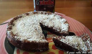 4 passi nella mia vita: Dolci: Torta magica alla Nutella