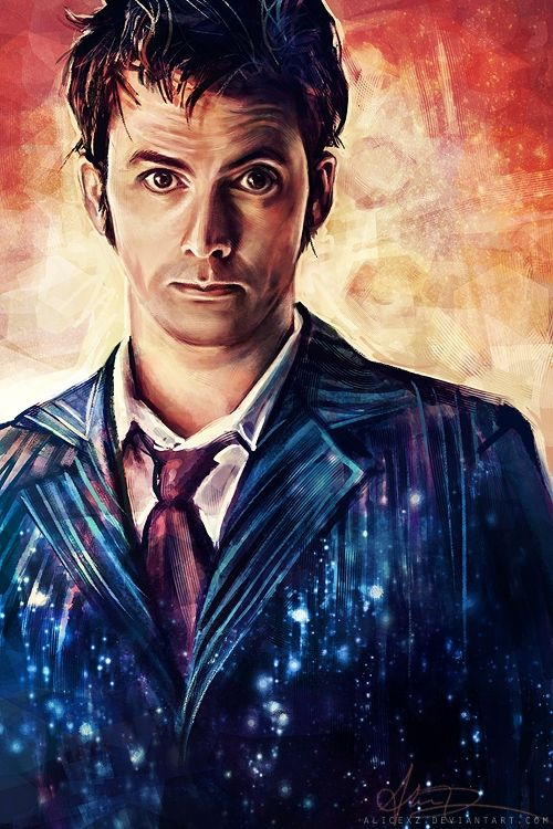 Doctor Who, David Tennant... I want this hanging on my wall...