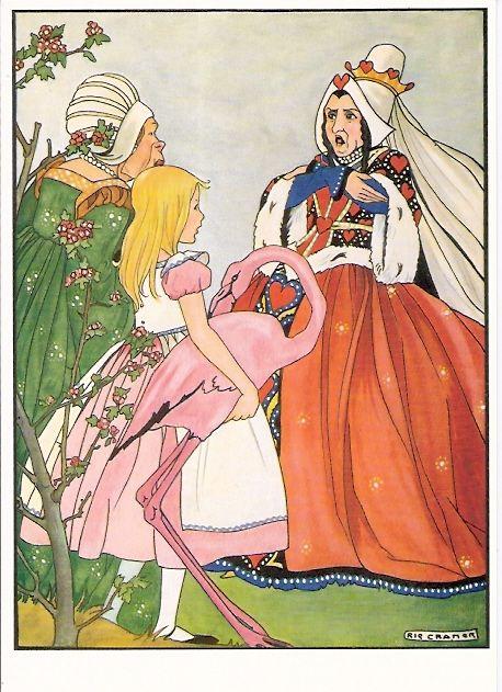 Rode koningin- Alice in Wonderland