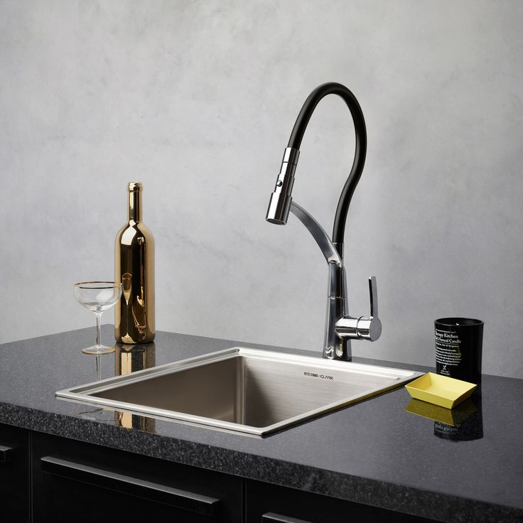 Inca Sink Mixer By Dorf #dorf #dorfstyle #tap #kitchen #design #