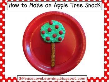 Apple Tree Picture Recipe Book