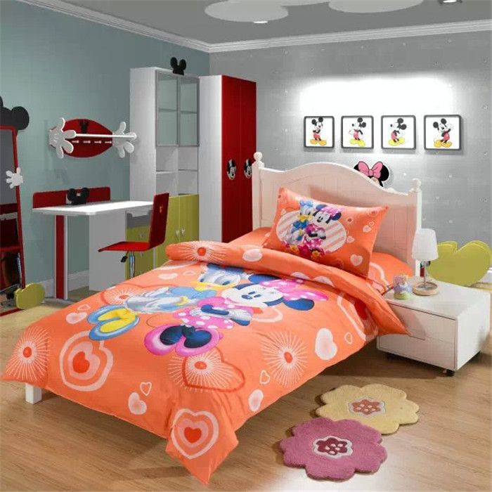 size set cat with duvet bedding girls sets designs bed for cover decoration children bedroom twin sheet cotton embroidered material pink kids