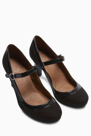 Buy Forever Comfort Stitch Detail Mary Jane Court Shoes online today at Next: Slovakia