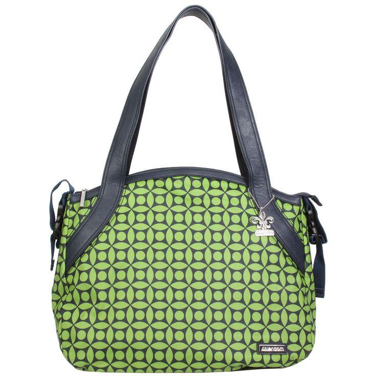 Kalencom Bellissima Diaper Bag, Green