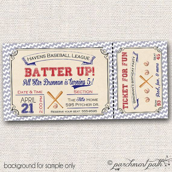 Vintage Baseball Birthday Invitations: 17 Best Images About Jonah's First Birthday On Pinterest