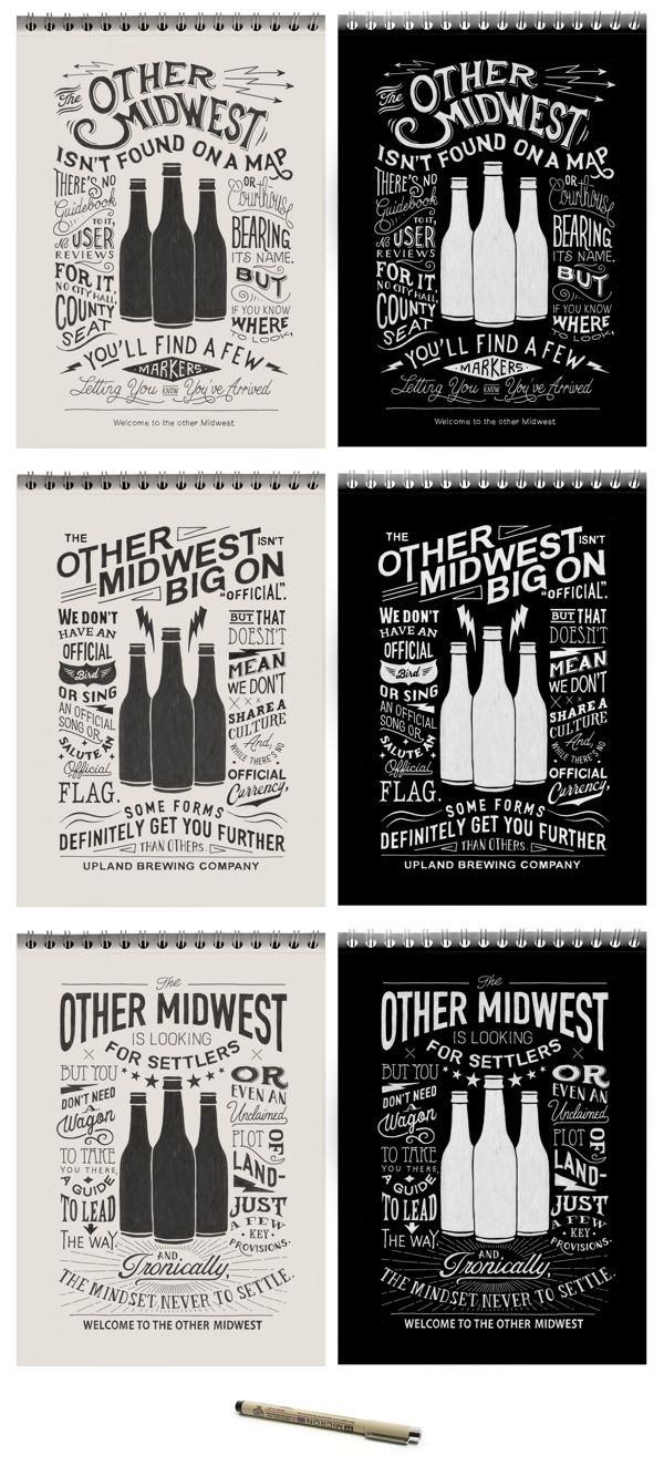 Upland Branding Campaign in #hipster #style, on Behance