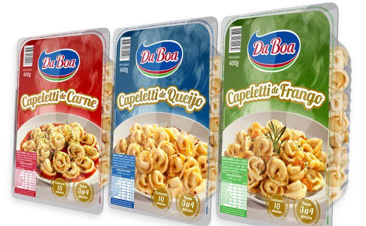 Modernização e padronização da linha de produtos Da Boa incluindo massas para pastel, para pizza, para lasanha, talharim e canudinhos para festa. Confira aqui  o branding, novas embalagens e comunicação para a empresa DA BOA.