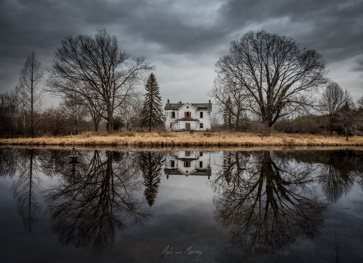 The sky...the reflection...the abandoned house...it's all amazing! Photo Credit: Abandonedment Issues : Redux by Adrian Murray on 500px. From https://500px.com/photo/83289123/abandonment-issues-redux-by-adrian-murray