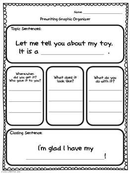 With this informative/explanatory writing unit students will write about their favorite toy and an imaginary personal robot. Students will give information about what they look like and explain where they got them and what they do.