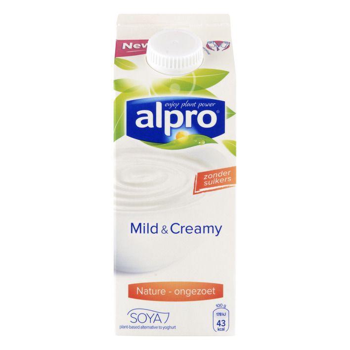 Alpro 'yoghurt' Mild & creamy naturel ongezoet #vegan
