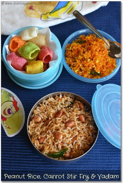 Best 136 food lunchbox recipes ideas on pinterest kid lunches kids lunch box recipes idea8 peanut rice carrot stir fry and vadam forumfinder Images