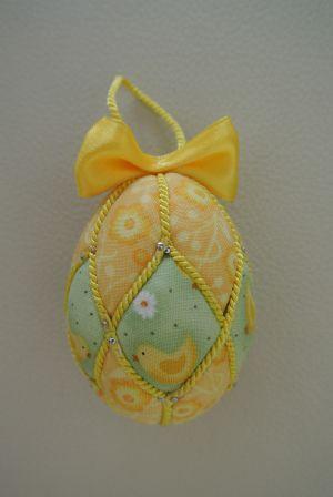 Patchwork Easter Egg