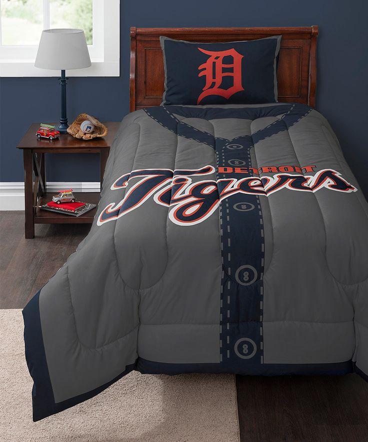 Detroit tigers bedroom