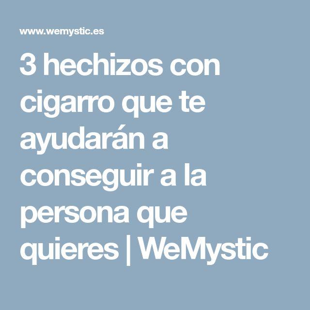 3 hechizos con cigarro que te ayudarán a conseguir a la persona que quieres | WeMystic