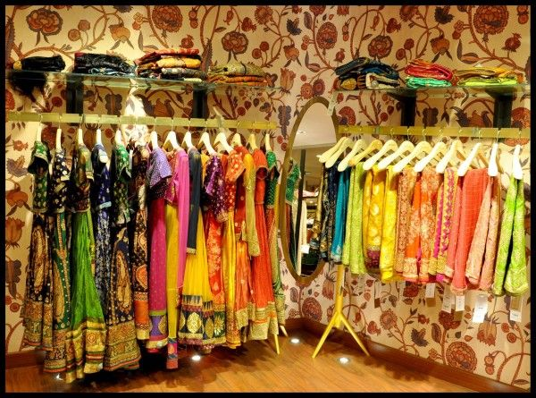 The excellence of Hyderabad designer's craftsmanship spills all over. The high end designer Ritu Kumar designers offer the assortment of wedding couture.