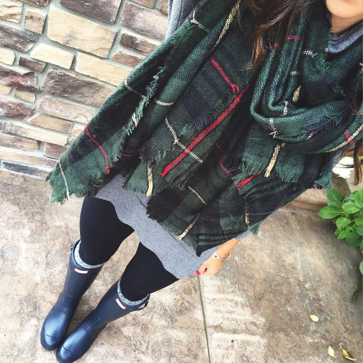 Comfy rainy day outfit