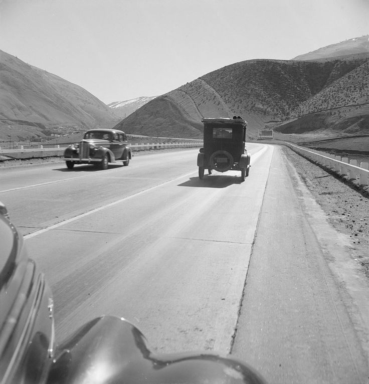 yesterdaysprint US Route 99 in Kern County