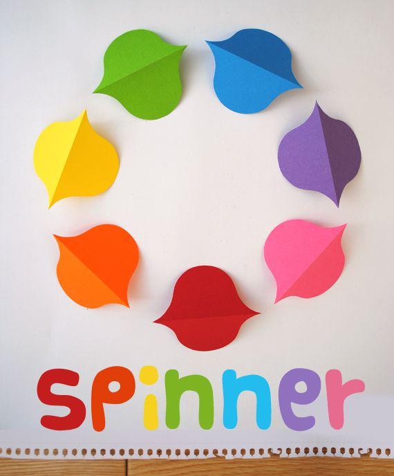 rainbow spinner tutorial