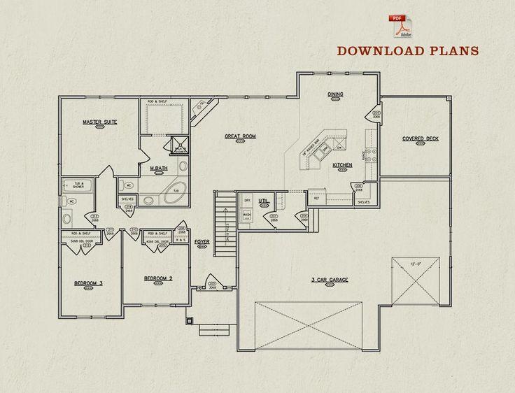 Floor Plan | The Hannah
