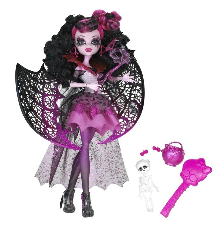 "Charakter aus der Monster High DVD ""Ghouls Rule""  X3716 Draculaura"