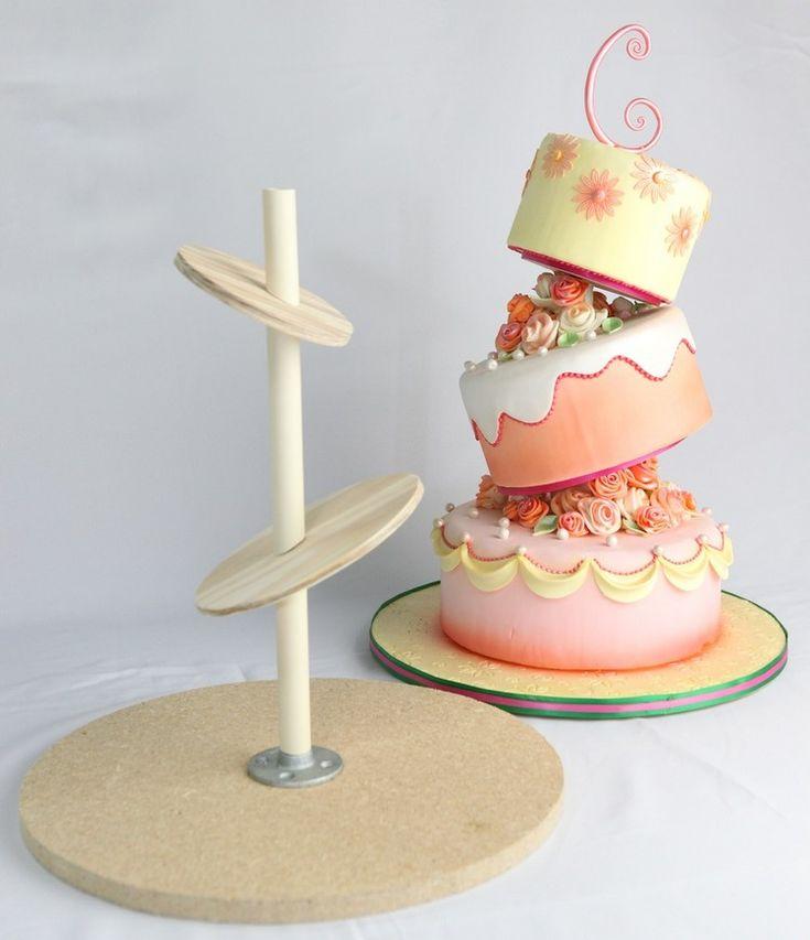 Geburtstagstorte mit originellem Design: Anleitungen und Ideen für Gravity Cakes …   – Feste