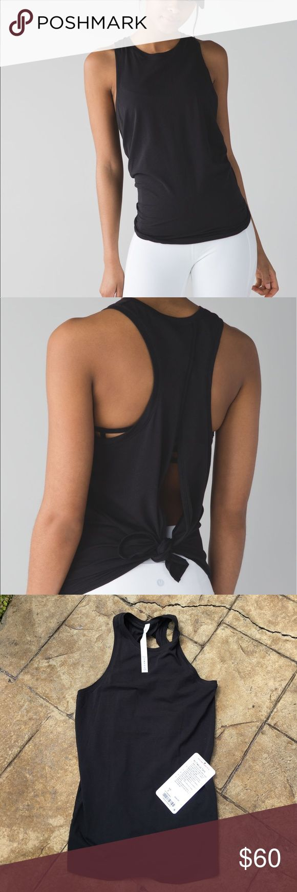 Lululemon All Tied Up Tank, Size 2, NWT'S New with tags, All Tied Up Tank, Size 2. lululemon athletica Tops Tank Tops