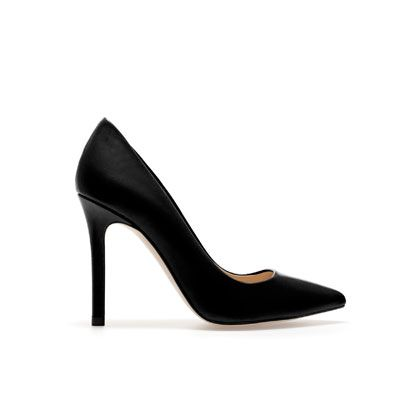 Image 1 of LEATHER COURT SHOE from Zara