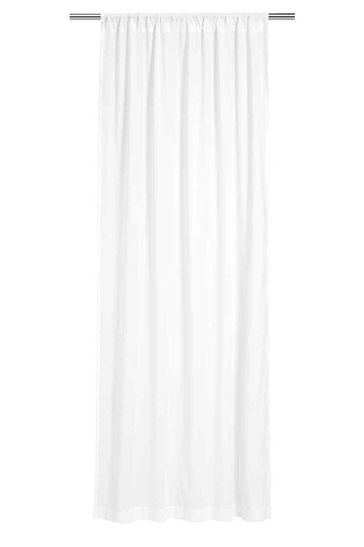 Open black curtain - 2 Pack Curtain Lengths