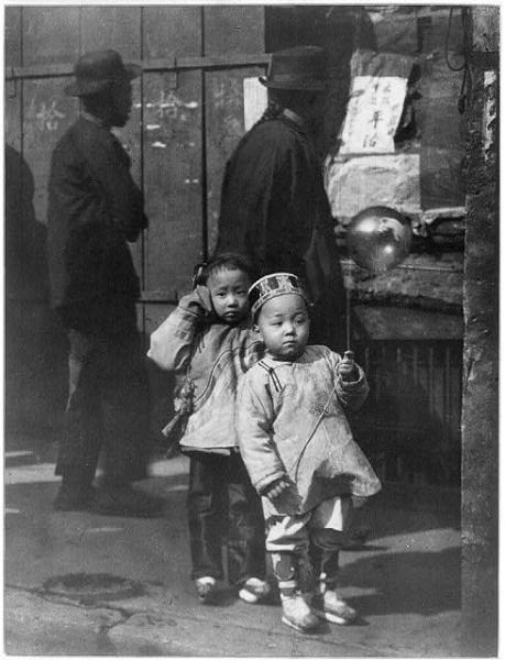 Children in Chinatown, San Francisco