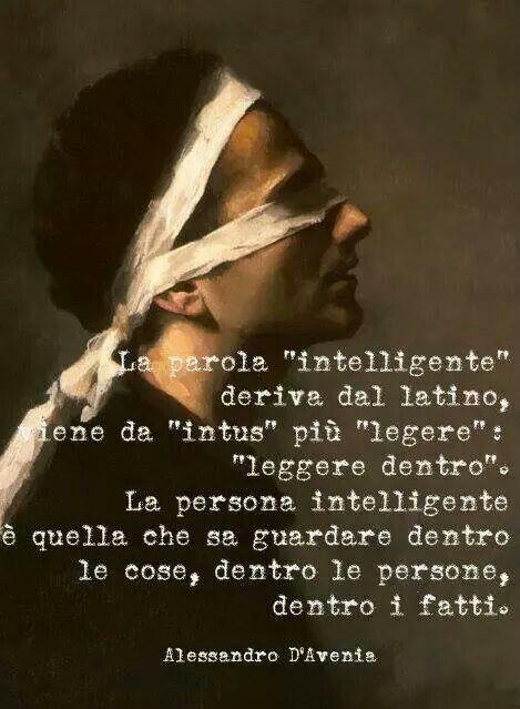 Parole e ispirazione - Intelligenza