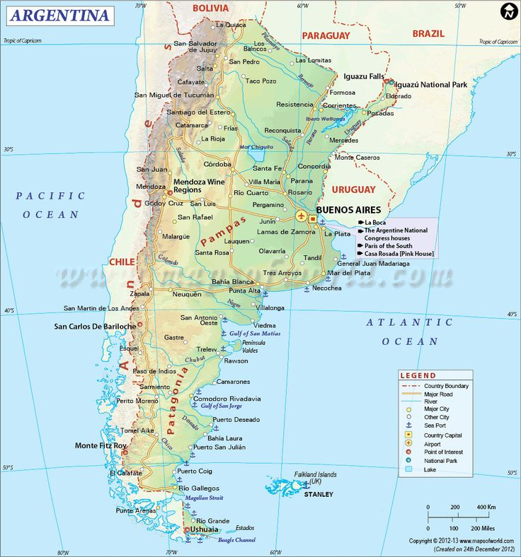 179 best travel maps of the world images on pinterest maps argentina chile map gumiabroncs Images
