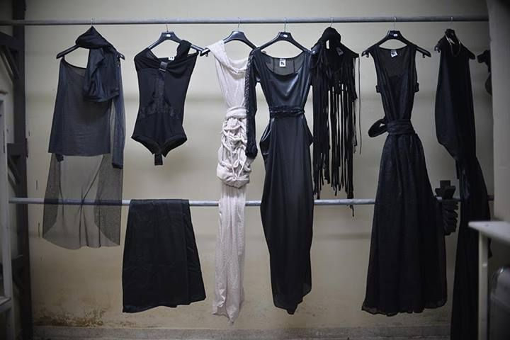 Backstage from the photoshooting of Seduce The Heaven _ full of Christina Skarpeli outfits!!!!