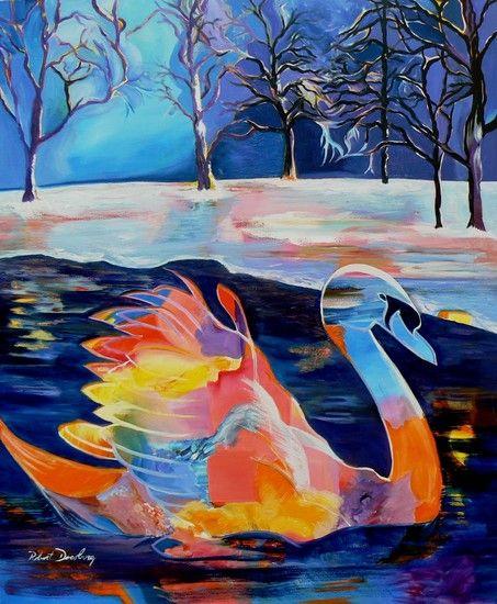 Robert Doesburg - Winter Swan