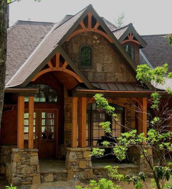 Rustic Home Exterior Pictures: Image Result For Pacific Northwest Lodge Style Homes In