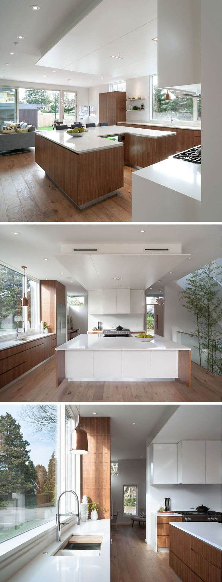 best 25 contemporary u shaped kitchens ideas on pinterest white the kitchen island in this kitchen has been designed in a u shape
