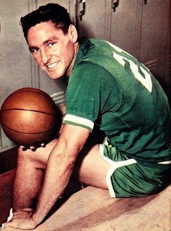 BILL SHARMAN:     (1926 - 2013) -    BASKETBALL PLAYER