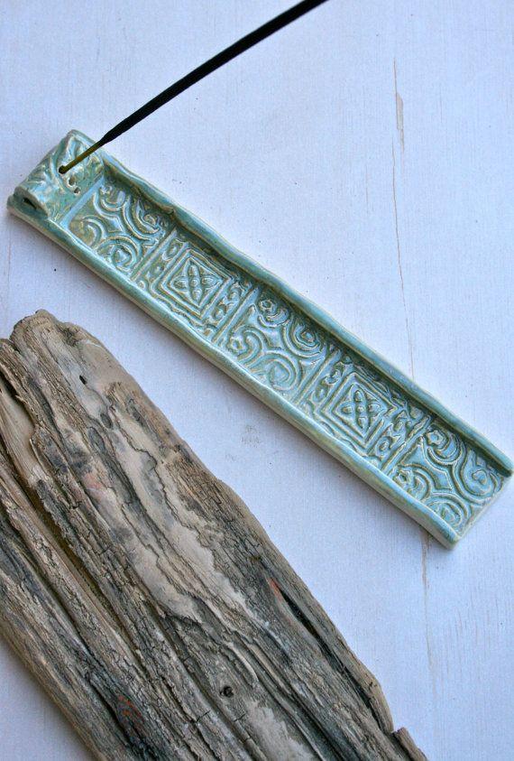 batik incense burner by earthformsbymarie on Etsy, $18.00