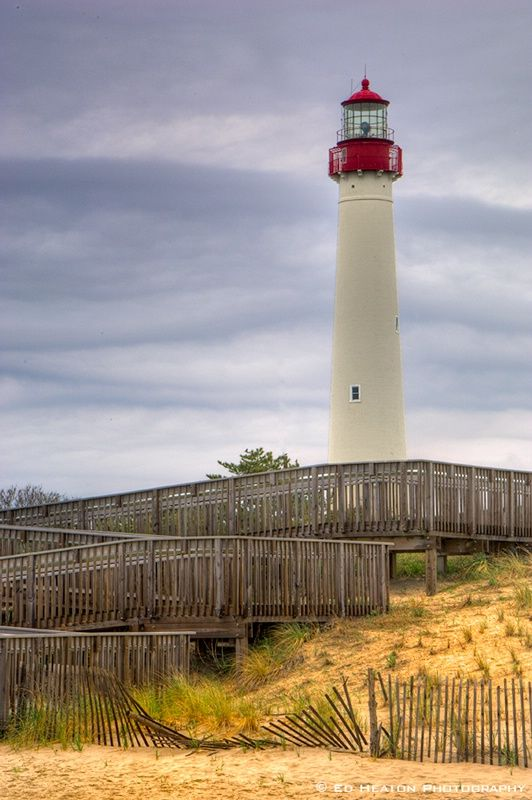 """Cape May Lighthouse, Cape May, NJ  Find """"By Owner"""" Vacation rentals @ www.ShoreThingVR.com"""