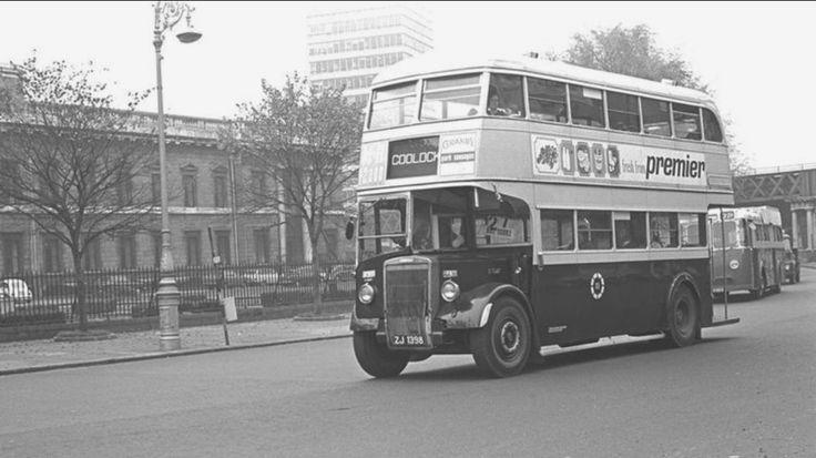 Old Dublin bus