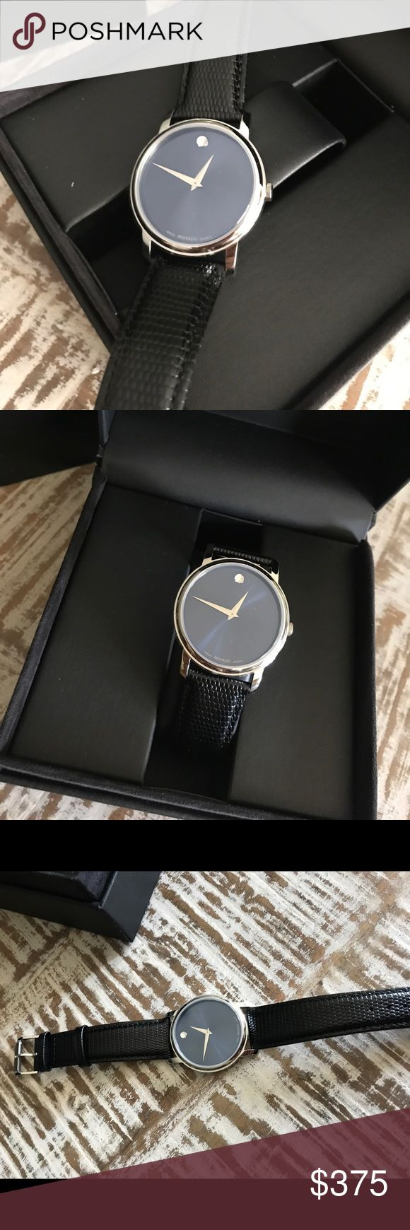 Men's Movado watch brand new movado watch. never worn. bought as a gift and didn't like it. Movado Accessories Watches