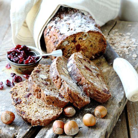 Recept på Nötbröd med tranbär från - Hemmets Journal